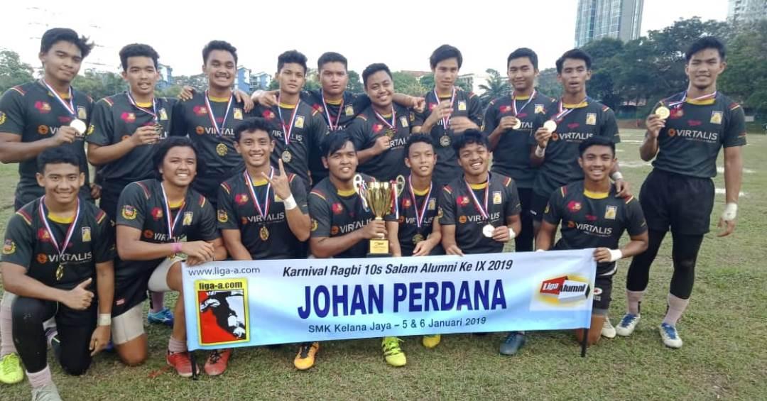 Johan Perdana Karnival Ragbi 10s Salam Alumni ke IX - SMSOBA